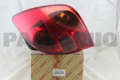 8155113510 Genuine Toyota LENS, REAR COMBINATION LAMP, RH 81551-13510