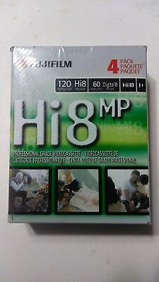 FUJIFILM Hi 8 Digital Video Tape 4 Pack