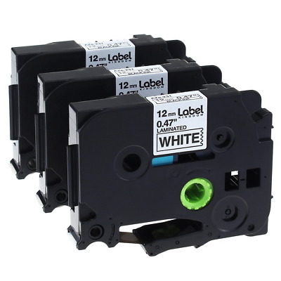 3 Pack Replace P Touch Label Tape Compatible Brother P-touch Label Maker (TZ231