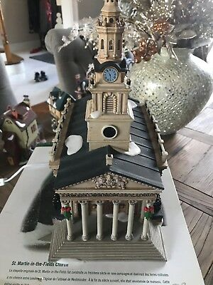 RETIRED DEPT 56 Boxed ST MARTIN IN THE FIELDS CHURCH Dickens Village