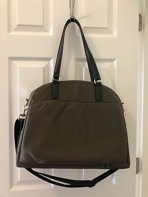 Lo&Sons O.M.G. Crossbody Overnight Tote in Army Green