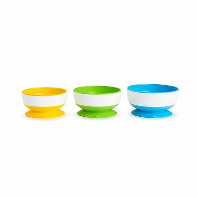 Munchkin Stay Put Suction Bowl, 3 Count Set of 1