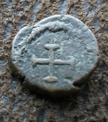 Vandals of N. Africa: Nummus Imitating Theodosius II. Cross Patte. Wroth;173ff ?