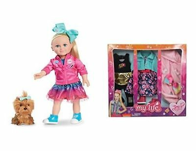 Jojo Siwa My Life As Doll EXCLUSIVE 18 Inch Doll Plush Dog And Clothing Set NEW