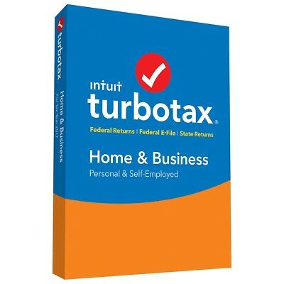 TurboTax 2017 Home and Business - Mac or PC