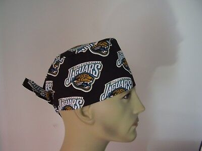 Surgical Scrub Hat/Cap - NFL JACKSONVILLE JAGUARS - One size- Men Women