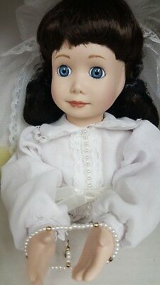 NEW Franklin Mint Heirloom doll, First Communion for Mary