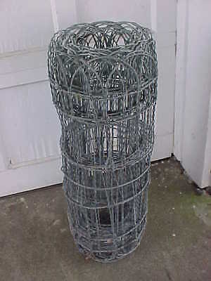 "VTG garden twisted wire fence 18"" high galvanized 2 rolls packaged as one dome"