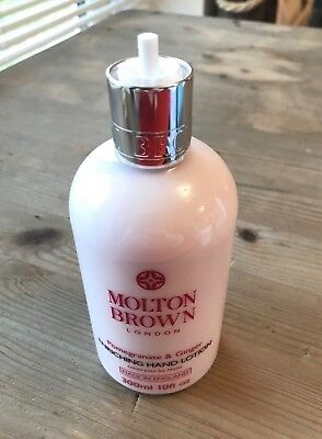 MOLTON BROWN Pomegranate & Ginger Hand Lotion #1372 DAMAGED PUMP
