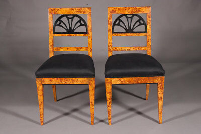 Chair in the Style Of The Classicism birds eye maple root Veneer