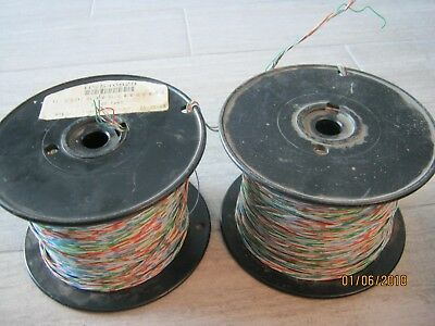 AT&T Cross Connect Telephone Wire Cable - 3 Pair (6C) - 24 AWG Copper - 1200ft