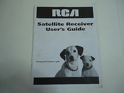 RCA Satellite Receiver User's Guide 2003 Owners Manual