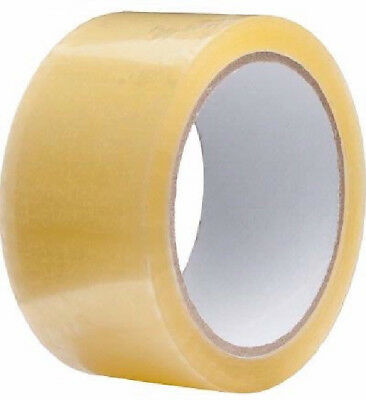 Clear Tape Strong Parcel Packing Tape 48mm x 66m Sello Tape cartoon Sealing