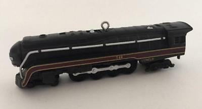 1999 746 Norfolk Western Steam Locomotive Hallmark Ornament Lionel Train #4