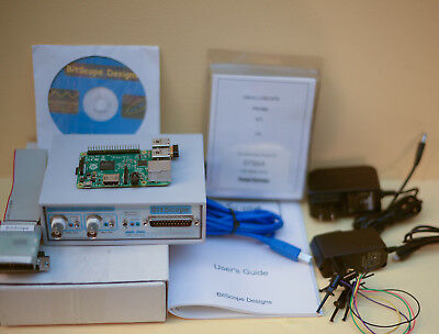 Bitscope BS310 100mHz Dual Channel DSO, Function Generator & Raspberry Pi
