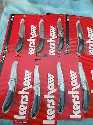 Lot of 8 Kershaw Crown 3160 X Folding Knife, Liner Lock Belt Clip New in Package