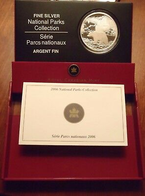 GRIZZLY BEAR Canada National Parks Collection 2006 999 SILVER