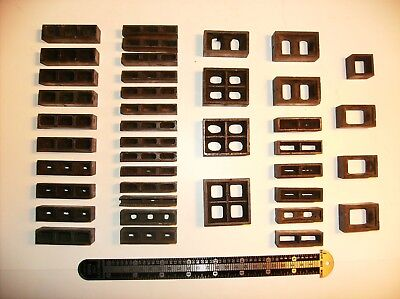 Assorted Letterpress Chase Furniture Spacers 40 Pieces