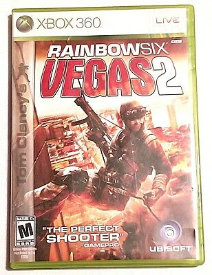 TOM CLANCY'S RAINBOW SIX VEGAS 2 for XBOX 360  INCLUDES BOOKLET
