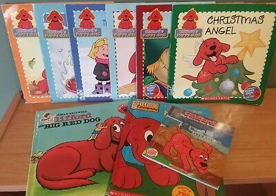 Lot of 9 Clifford Books
