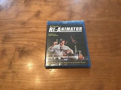 Re-Animator Blu-Ray*Selecta Vision*H.P. Lovecraft*NEW/Sealed*Rare Release*