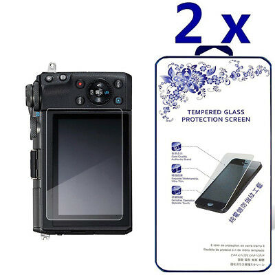 2-Pack For Canon EOS M6 Tempered Glass Screen Protector