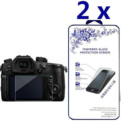 2-Pack For Panasonic Lumix GH5 Tempered Glass Screen Protector