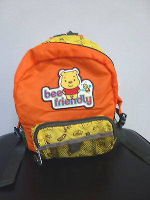 Authentic Disney Licensed Baby Winnie the Pooh Kids Mini Nylon Backpack GREAT