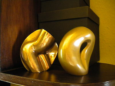Gilded Bronze Erotic Statue By Agustin Alaman
