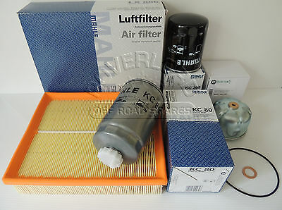 Land Rover Discovery Series 2 & Defender  - TD5 Filter Service kit