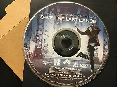 SAVE THE LAST DANCE DVD (Julia Stiles/Sean Patrick Thomas)