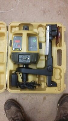 Topcon RL-VH3D rotary laser level - serviced and calibrated