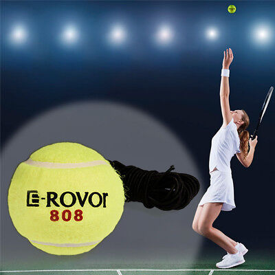 Tennis Training Ball With Elastic Rope Trainer Practice Ball On Elastic String
