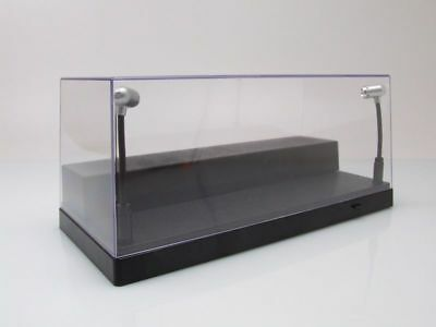 klarsichtbox (Display Cabinet) with LED Lighting for 1:43 or 1:24 Models/Triple9