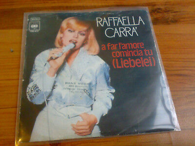 "Raffaella Carrà - A Far L'Amore Comincia Tu (Liebelei) (7"", Single)"