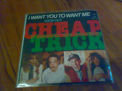 Cheap Trick ‎– I Want You To Want Me Single 7""