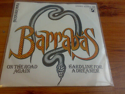 "Barrabas - On The Road Again / Hard Line For A Dreamer (7"", Single) Disko Funk"