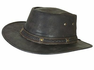 Thor Equine Leather Hat Cowboy Hat Western Hat, Stokes, S-XL
