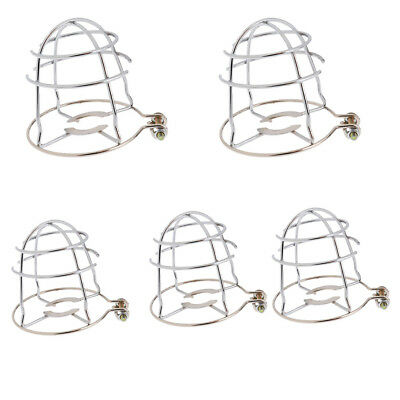 5pcs Metal Iron Fire Sprinkler Heads Upright Pendant Spray Head Cover Guard