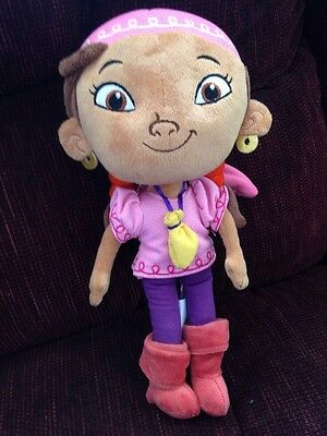 Disney Store Preowned Izzy From Jake And The Pirates Plush Doll