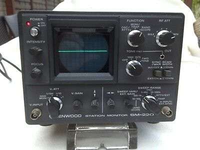 KENWOOD Station Monitor SM 220