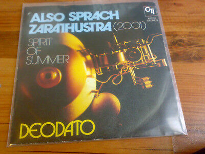 "Deodato - Also Sprach Zarathustra (2001) (7"", Single)"