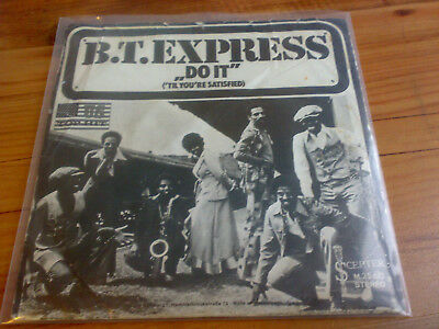 "B.T. Express - Do It ('Til You're Satisfied) (7"", Single) nice Funk soul"