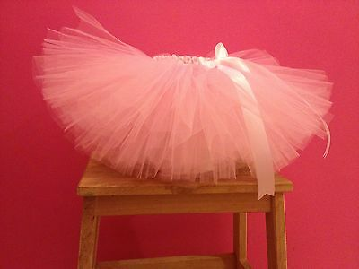 Pink Tulle Tutu. 6-18 Months. Cake Smash Outfit