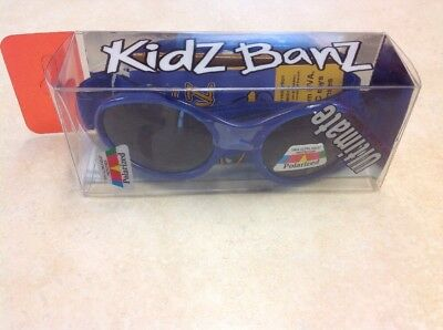 Kidz Banz Ultimate Polarized Sunglasses Blue New NWT