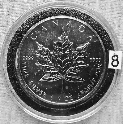 Canada - 1989 - $5 - 1 Troy oz. Silver 9999 (Lot 8)