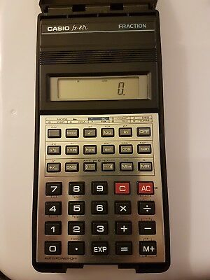 Business & Industrial Casio Fx-82l Fraction Handheld Scientific Calculator With Hard Case