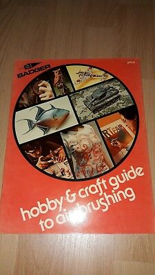 Badger hobby and craft guide to air brushing - Buch in Englisch