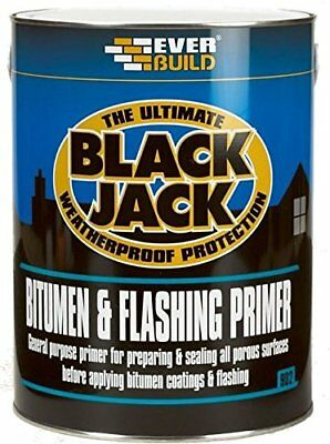 Everbuild 902 Bitumen & Flashing Primer 1 Litre