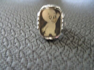 Casper the Friendly ghost Vintage Flicker Ring Part of Universal Monsters Set